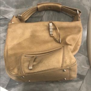 Tod's hobo purse with zip closure